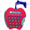 Apple shaped calculator with neck cord
