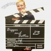 Big movie clapboard