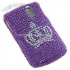 BlackBerry Curve 8330 Full Diamond Case with Crown Design