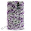 Blackberry 8310/ 8330 Curve Full Diamond Hearts Cover