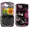 Blackberry Curve 8520 Pink Butterfly Design Case