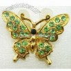 Butterfly Shaped Brooch