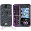 Carbon Fiber Snap-On Protector Case Faceplate for Motorola Rival A455