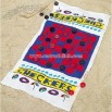 Checkers Beach Towel Game