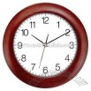 Cherry wood wall clock