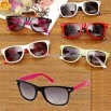 Children's sunglasses with temples and frame in multi-colors