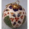 Cloisonne Christmas Ball
