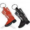 Cowboy Boot Keychain Set