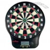 Electronic bristle dart board