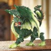 Emerald Dragon Figurine
