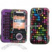 Fit Motorola RIVAL Phone Cover Case Pink-POLKA DOTS