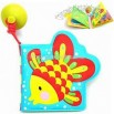 Floatable Intelligence Bath Reading Book with Lovely Images-Bath Toys