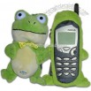 Fun Friends Plush Animal Bar Cell Phone Cover - Tadpole (Frog)