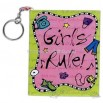 Girl's Rule! 80 page book with key chain