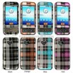 HTC G1 Crystal Hard Case with Check Design