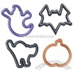 Halloween Cookie Cutters, Set of 4