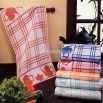 Jacquard Kitchen Towel with Good Hand Feeling and Absorbency