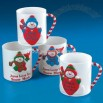 """Jesus Loves You Snow Much"" Mugs"