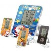 LCD Clock with digital display