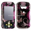 LG Neon Crystal Case with Pink Butterfly Design
