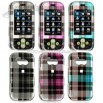 LG Neon Premium Crystal Case with Check Design