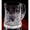 Lead crystal mug