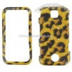 Leopard Snap-On Protector Case Faceplate for Motorola Rival A455