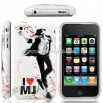 Michael Jackson Special Memories Edition iPhone Hard Case 3G / iPhone 3GS Case White