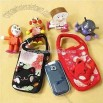 Mobile Phone Pouches with Cartoon Figure Image