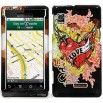 Motorola Droid A855 Love Tattoo Design Protector Case