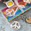 Peace, Love and Happiness Keychain Favors