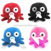 Plush Octopus Tissue Box Tissue Holder