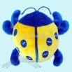 Plush and Stuffed Toy Beetle Pillow/Cushion A FM Scan Radio