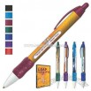Retractable ballpoint message pen