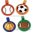 Round sports ball whistle