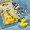 Rubber Ducky Keychain Favors