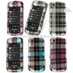 Samsung Instinct S30 Check Design Crystal Case