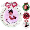 Snap Wreath ornament Photo Frame