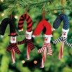 Snowman Candy Cane Cover Ornaments