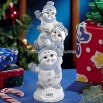 Stacked Snowbuddies Family Figurine