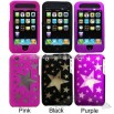 Stars Transparent Laser Cut Case for iPhone 3G