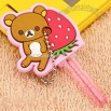 Strawberry Key Cover (Rilakkuma/Strawberry)