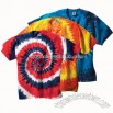 T-Shirt - Tie Dye, Copabanana Multi-color Swirl