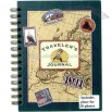 Traveler's journal with 5 photo sleeves