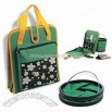Two-in-one Garden Tool Bag with Foldaway Pail
