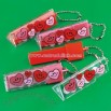 Valentine Eraser Key Chains