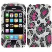 Water Mark Design Rhinestone Protector Case for iPhone 3G/3GS