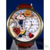 Whimsical Watches Cowboy Gold Watch