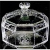crystal covered candy dish
