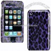 iPhone 3G/ 3GS Purple Leopard Design Case